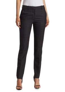 Calvin Klein Check Wool Pants