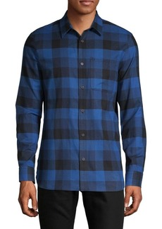 Calvin Klein Checkered Button-Down Shirt