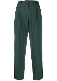 Calvin Klein checkered pattern trousers