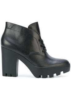Calvin Klein chunky heel ankle boots