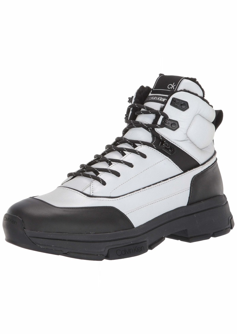 Calvin Klein Cillian Smooth Calf/Reflective Nylon Boot