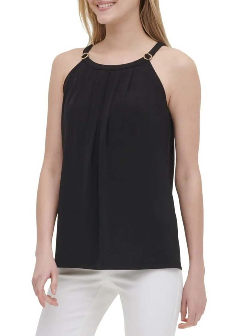 Calvin Klein Circle Halter Top