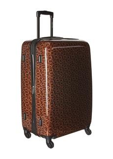 """Calvin Klein CK-510 Signature Hardside 28"""" Upright Suitcase"""