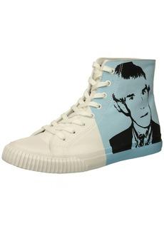 Calvin Klein CK Jeans Men's Iconic Canvas/Warhol Print 3 Sneaker   M US