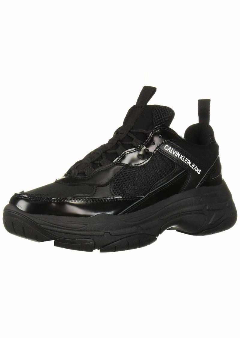 Calvin Klein CK Jeans Men's MARVIN Shoe Black Nylon/metal   M M US