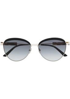 Calvin Klein CK19101 round-frame sunglasses