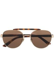 Calvin Klein CK19306 round-frame sunglasses
