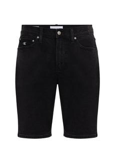 Calvin Klein Ckj Embroidery Cotton Slim Shorts