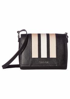 Calvin Klein Clara Saffiano Leather Crossbody