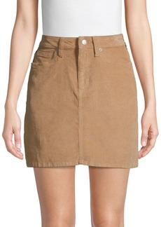 Calvin Klein Classic Corduroy Mini Skirt