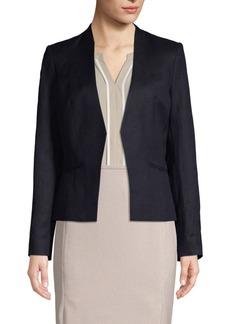 Calvin Klein Classic Open-Front Jacket