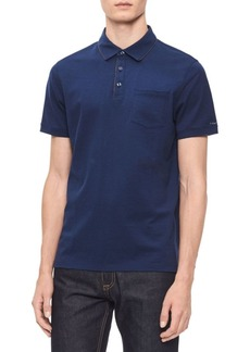 Calvin Klein Classic Short-Sleeve Cotton Polo