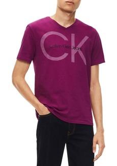 Calvin Klein Classic V-Neck Cotton Tee