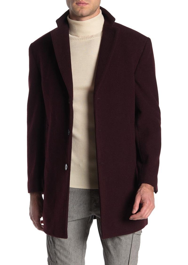 Calvin Klein Classic Wool Blend Overcoat