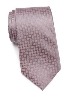 Calvin Klein Clean Medallion Print Tie