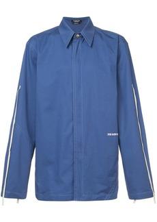Calvin Klein collard shirt