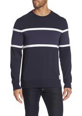 Calvin Klein Colorblock Crew Neck Pullover Sweater