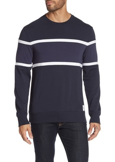 Calvin Klein Colorblock Crew Neck Pullover Sweater