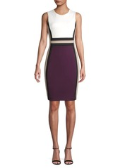 Calvin Klein Colorblock Sheath Dress