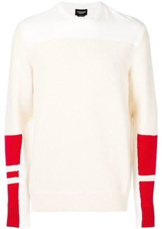 Calvin Klein colour-block jumper