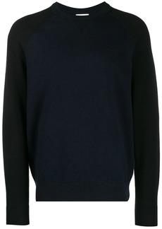 Calvin Klein colourblock panel jumper