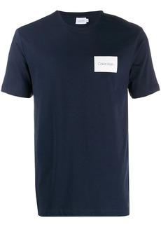 Calvin Klein contrast logo patch T-shirt