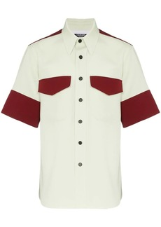 Calvin Klein contrast panel shirt