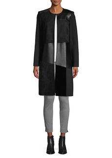 Calvin Klein Contrast-Panel Topper
