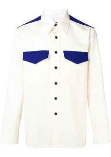 Calvin Klein contrast shirt
