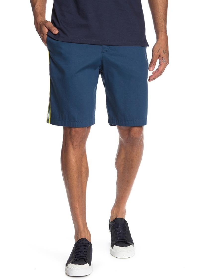 Calvin Klein Contrast Stripe Twill Shorts