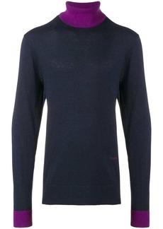 Calvin Klein contrast trim sweater