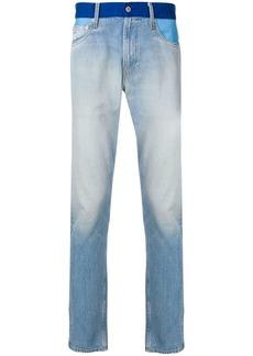 Calvin Klein contrast waistband jeans