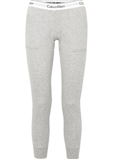 Calvin Klein Cotton-blend Jersey Track Pants