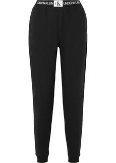 Calvin Klein Cotton-blend Jersey Track Pants