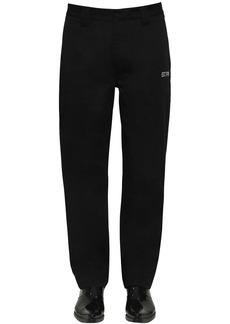 Calvin Klein Cotton Blend Work Pants