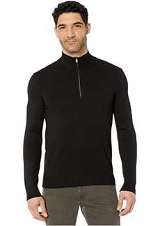 Calvin Klein Cotton Modal Long Sleeve 1/4 Zip
