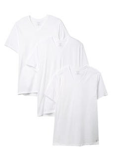 Calvin Klein Cotton V-Neck Classic Fit T-Shirt - Pack of 3