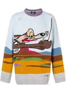 Calvin Klein x Looney Tunes Coyote sweater