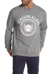 Calvin Klein Crest Logo Print Sweatshirt