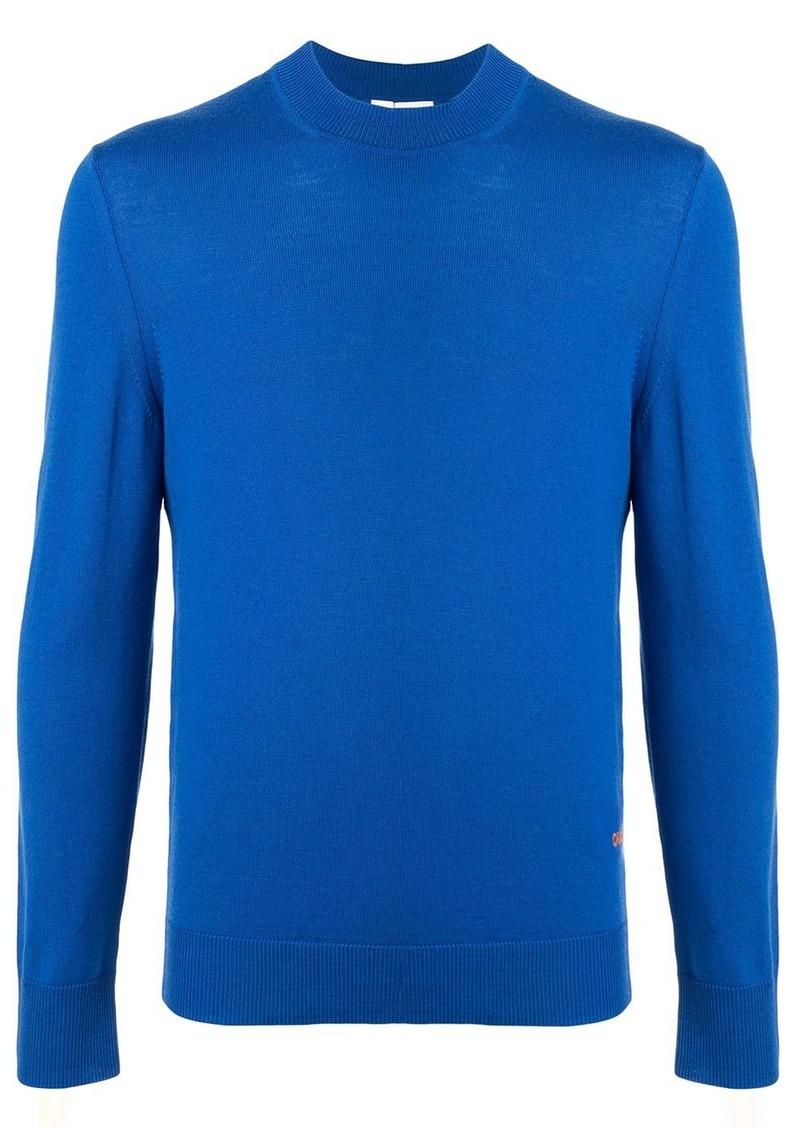 Calvin Klein crew-neck knit sweater