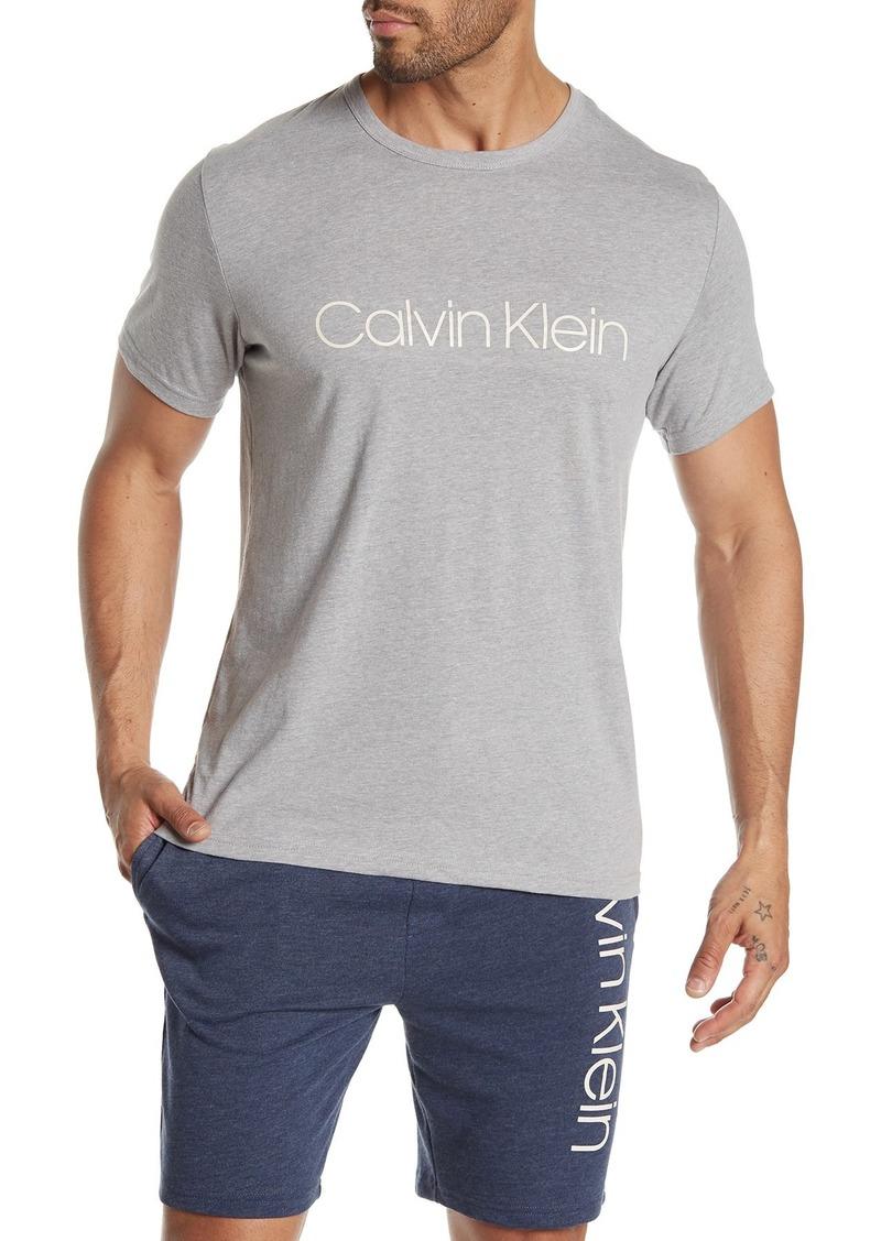 Calvin Klein Logo Crew Neck Lounge T-Shirt
