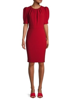 Calvin Klein Crewneck Knee-Length Dress