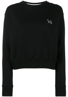 Calvin Klein crewneck sweatshirt with embroidery