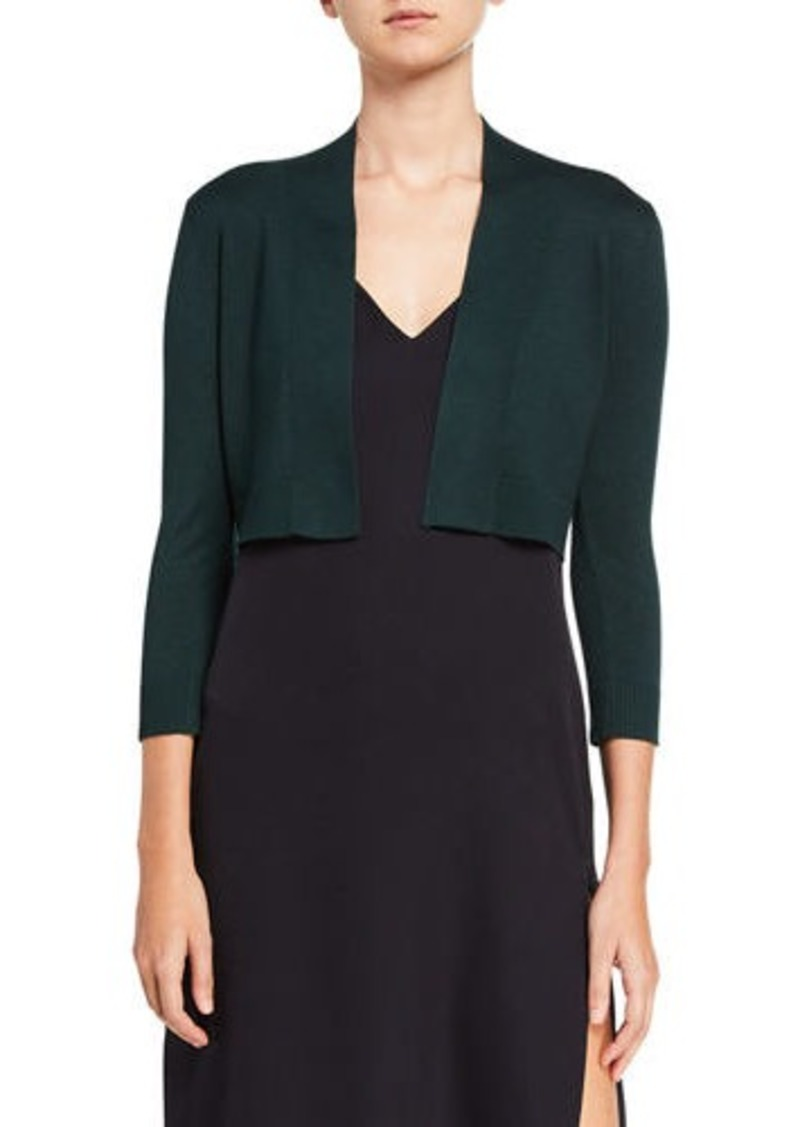 Calvin Klein Cropped 3/4-Sleeve Shrug