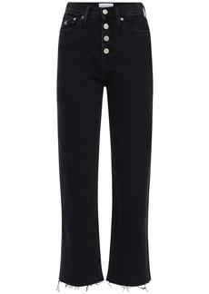Calvin Klein Cropped Cotton Denim Jeans