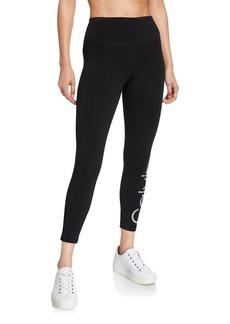 Calvin Klein Cropped Dot Logo Leggings
