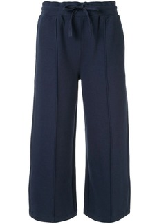 Calvin Klein cropped length track pants
