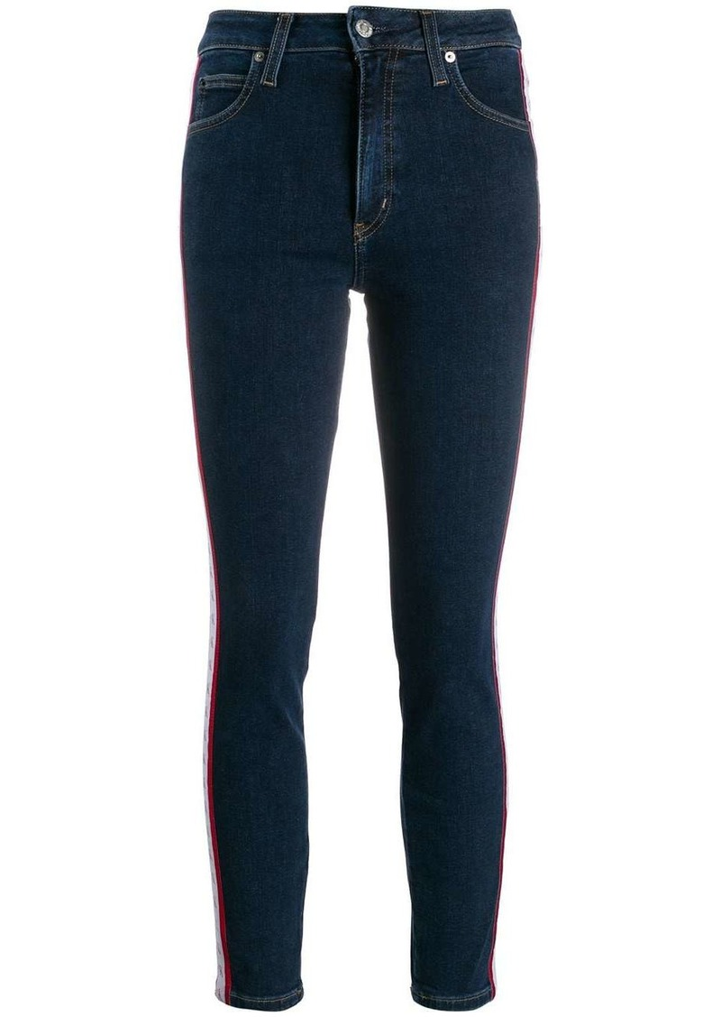 Calvin Klein cropped skinny-fit jeans