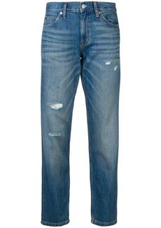 Calvin Klein cropped slim jeans