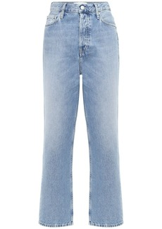 Calvin Klein Dad Cotton Denim Jeans